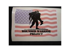 #military #decal #decals Wounded Warrior Project Decal Sticker for Sale Tulsa #sticker