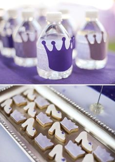 Purple Sofia the First Princess Party.  Like the banner option