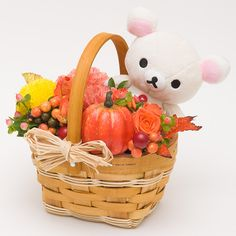季節のアレンジメントフラワーギフト(オータム・コラックマ)※メーカー直送品