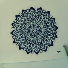coloriage-adulte-zen-et-anti-stress-17 #mandala #coloriage #adulte via dessin2mandala.com