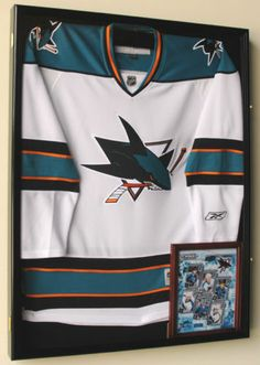 XL Hockey Jersey Display Case Frame Lock 98 UV Door | eBay