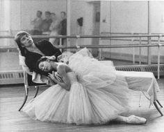 Margot Fonteyn and Rudolf Nureyev