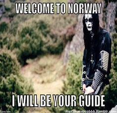Viking metal tour guide