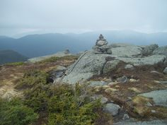 The summit of Wright Mountain in the Adirondack High Peaks of New York; completed :)