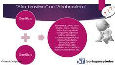 Português para todos: Afro-brasileiro ou Afrobrasileiro