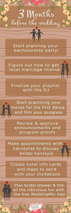 The fun and modern way to create your wedding video | How To Plan A Wedding In 1 Month | Wedding Day Checklist. When you begin planning, it's easy to get overwhelmed. Hiring a wedding event organizer might assist relieve a few of the pressure of preparing for the wedding day. #weddingdress #weddingblog #Wedding Prep