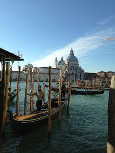 Gondola Ride On The Canals Of Venizia w Venezia, Veneto