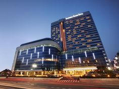 Busan Haeundae Grand Hotel South Korea, Asia Ideally located in the prime touristic area of Haeundae-gu, Haeundae Grand Hotel promises a relaxing and wonderful visit. The hotel has everything you need for a comfortable stay. All the necessary facilities, including free Wi-Fi in all rooms, daily housekeeping, fax machine, photocopying, printer, are at hand. Guestrooms are designed to provide an optimal level of comfort with welcoming decor and some offering convenient amenities...