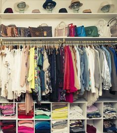 best closet design ideas   The easier way to have the best closet design is to make use off the different storage units matching all your needs. In other words, all you want is organization, so use different drawers to store all your folded items, use the hangers for your dresses, coats and blouses and for your accessories like scarfs and jewelery use boxes.
