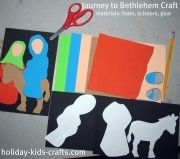 easy printable Advent Crafts for Sunday school