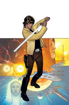 ungoliantschilde:  Adam Hughes's covers for Star Wars: Rebel Heist #s 1-4.