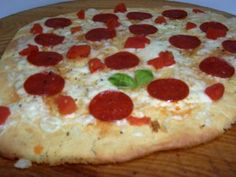 Gluten-Free Pepperoni Pizza Bread