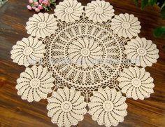 Patrones de paños en crochet - Imagui