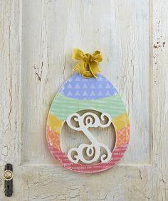 Easter Egg Monogram