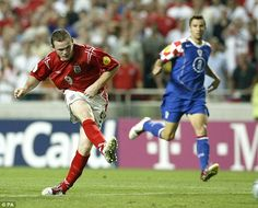 Rooney starred for England in his first major tournament at Euro 2004 but has struggled since