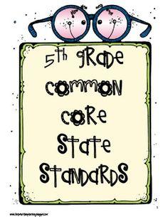 5th Grade Common Core