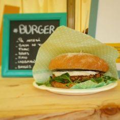 Burger vegana de @lateca33  en @comocomofest Simplemente deliciosa