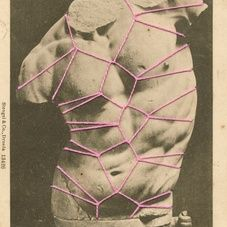 Surrounded by nudes. 2014 Collage Kensuke Koike