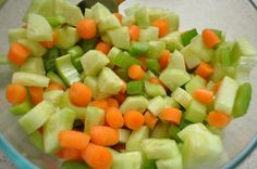 Mrs. Kitchen Cooks: Cucumber, Carrot, and Celery Salad