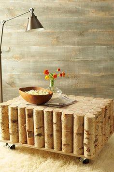 Contemporary Living Room with Shag area rug, Standard height, West elm stikwood adhesive wood paneling, Hardwood floors