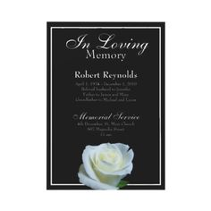 Funeral Bereavement Card Thank You Lily Lilium Printable Invite ...