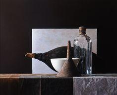 Volkert Olij 'African fruit' oil on wood  65 x 81 cm
