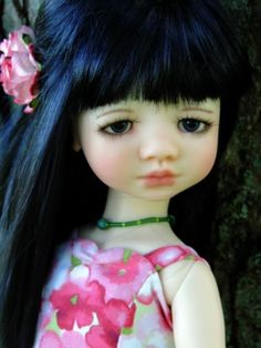 OOAK Makiko MSD by MeadowDolls... Customized by Charlene Smith