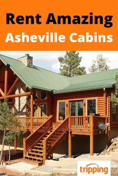 The mountains of Asheville, NC are just a few clicks away! Browse our unparalleled inventory of cabins and other rental properties available in the greater Asheville area. Tripping.com is proud to offer rentals for every group size and budget.