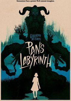 Alt movie poster for Guillermo Del Toro's Pan's Labyrinth Film Poster Design, Movie Poster Art, Poster Wall, Cinema Posters, Concert Posters, Horror Posters, Pan's Labyrinth Movie, Superhero Poster, Minimal Poster