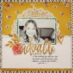 Small Town Scrapbooker: Adorable ♥ Process Video Tutorial