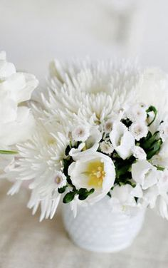 White Flowers are so stylish