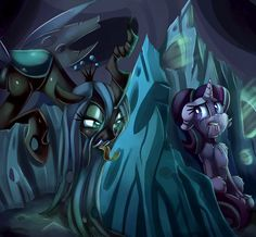 In the hive by thediscorded.deviantart.com on @DeviantArt
