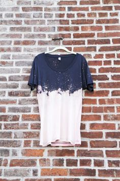 Cloudy Bleached Tee