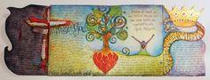 visual blessings: IDENTITY Art Journal - Me Royalty?!