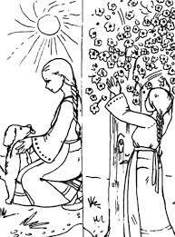 Imagini Pentru Planse De Colorat Povesti Romanesti Flori