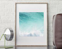 Ocean Art Print Large Printable Poster Digital Download