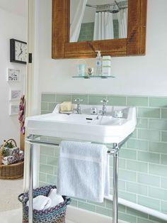 wash stand & tile colour idea.