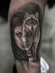Tattoos, wolf tattoo back, wolf tattoo sleeve, wolf sleeve, sle Wolf Sleeve, Wolf Tattoo Sleeve, Sleeve Tattoos, Tattoo Wolf, Wolf Girl Tattoos, Tattoo Girls, Indian Girl Tattoos, Eagle Tattoos, Wolf Tattoo Design