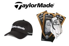 $30 for a 3-Pack of TaylorMade Stratus Leather Gloves PLUS a TaylorMade Tour Radar Relaxed Adjustable Hat! #GOLF