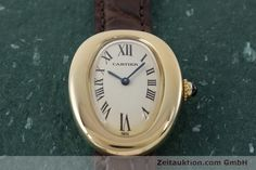 Cartier Baignoire 18k Gold Quarz Kal. 057.06