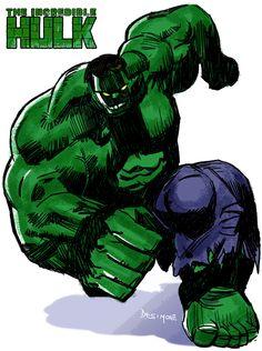 #Hulk #Fan #Art. (Hulk Nuevo) By: Gustavodesimone. (THE * 5 * STÅR * ÅWARD * OF: * AW YEAH, IT'S MAJOR ÅWESOMENESS!!!™)
