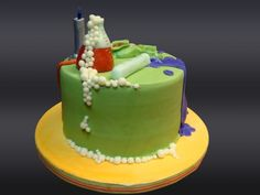 Mad Science cake ...