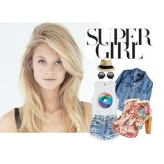 """super girl"" by thomcin on Polyvore"