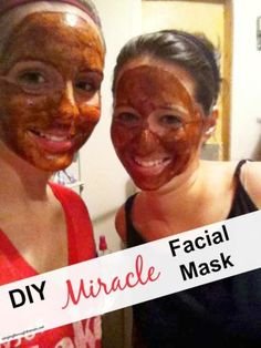 """DIY Miracle Facial Mask -Ingredients You Need: 2 tbls of honey 1 tsp of cinnamon 1 tsp nutmeg """"This DIY facial mask, is calming and soothing for stressed-out skin – in addition, it smells absolutely amazing! The secret? Nutmeg and honey act as natural anti-inflammatories, which can reduce swelling and redness in skin. They're also great for soothing acne scars and preventing infection. In addition, the nutmeg and cinnamon also work to exfoliate your skin when you wash this mask off."""""""