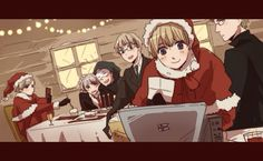 Hetalia (ヘタリア) - Merry Christmas! with Finland, Sweden, Estonia, Turkey, Iceland, & Norway