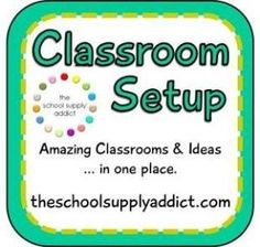 Links to classrooms, photos, and ideas for getting your classroom ready! by ChrisFi