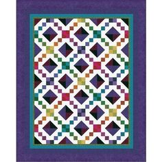 Jewel box is sparkling with color - by Jinny Beyer - beginners level
