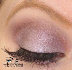 MAC eyeshadows used: Crystal (on lid, below crease and lower lashline) Shale (crease) Vanilla (blend)