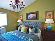 Bewitching Bright Bedroom