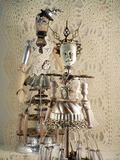 Machine Age Santos at Art and Soul Retreat. Leslie Brier